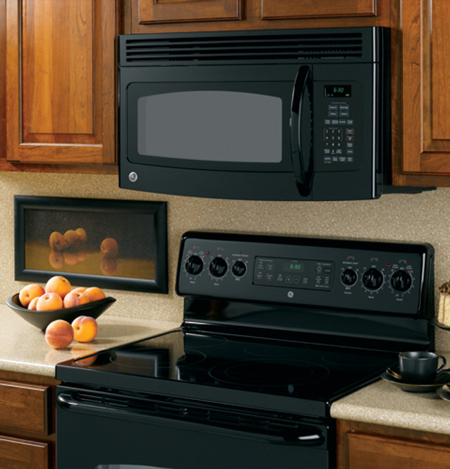 ge spacemaker over the range microwave oven jvm1540dmbb