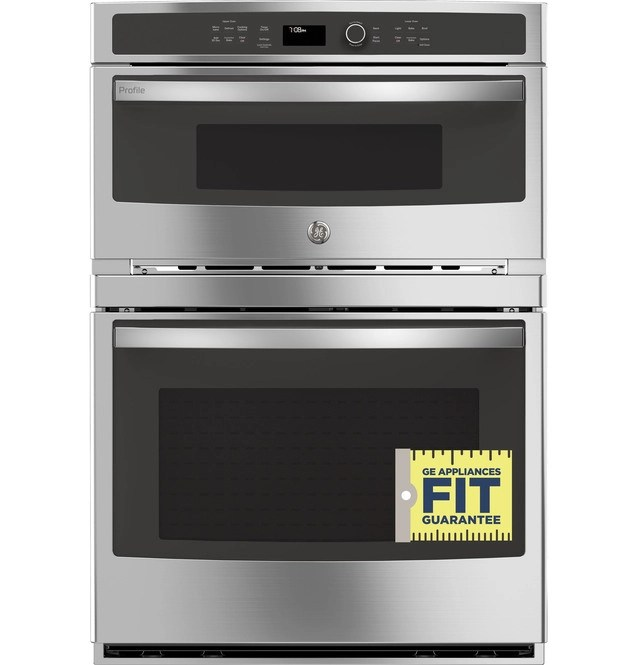 ge profile 30 built in combination convection microwave convection wall oven pt7800shss
