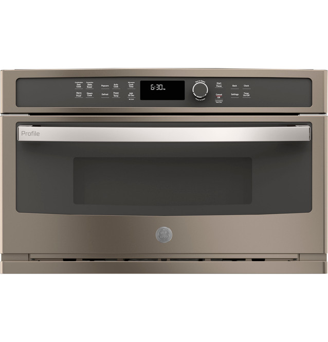 ge profile built in microwave convection oven pwb7030eles