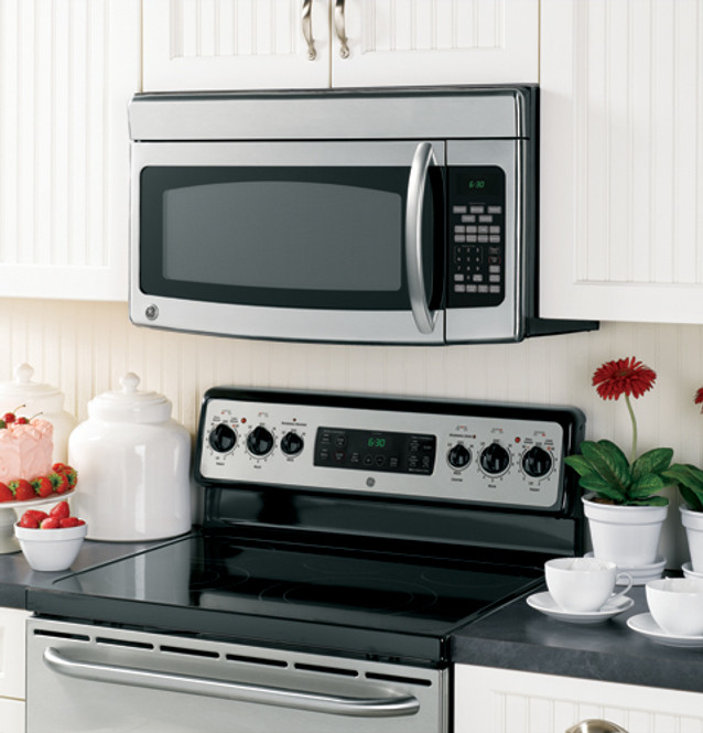 ge spacemaker over the range microwave oven jvm1850smss