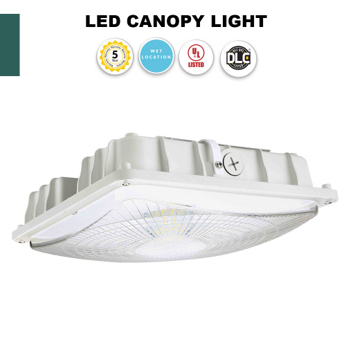 really bright led canopy light perfect for garages carports and storage areas