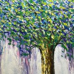 Lucky Tree Big Tree Large Size Mural Art Hand Painted Modern Oil Painting Canvas Painting To The Living Room Dining Room Bedroom Onshopdeals Com