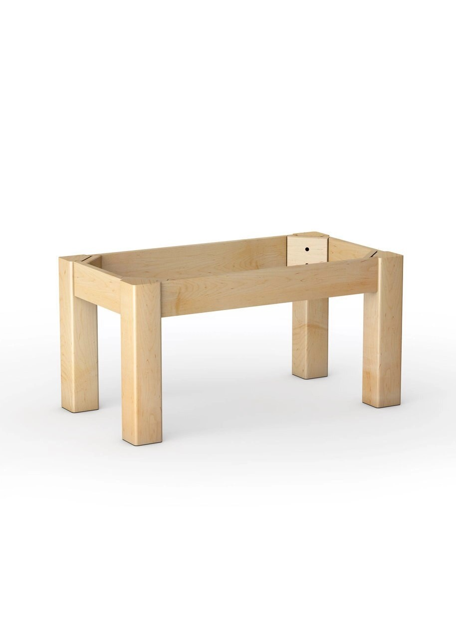 foursquare coffee table base 18 extra large leg