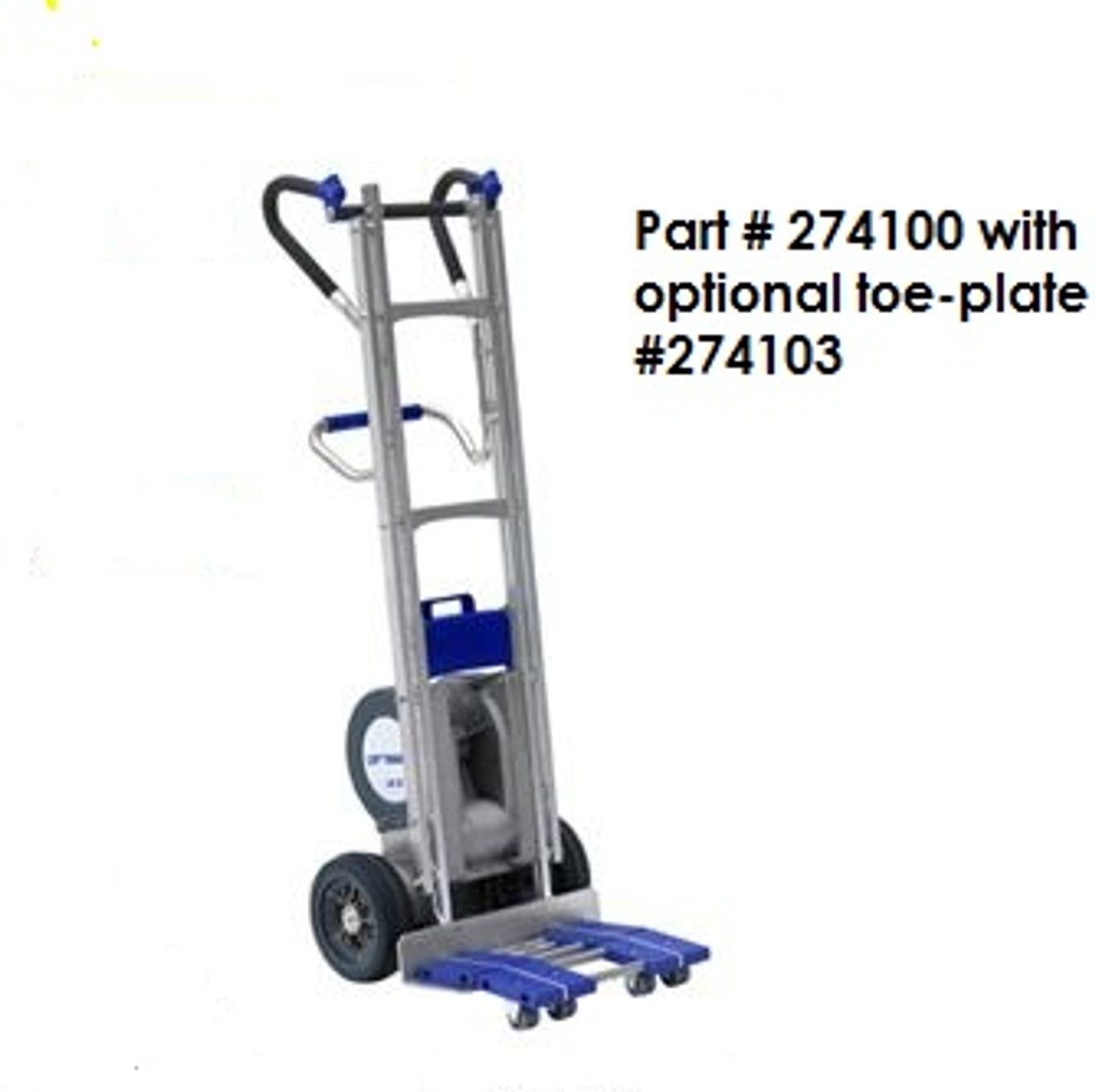 Wesco 274100 Electric Heavy Duty Stair Climber Hand Truck | Heavy Duty Stair Carpet | Stair Runners | Stair Treads Carpet | Stair Risers | Rug Gripper | Carpet Protector