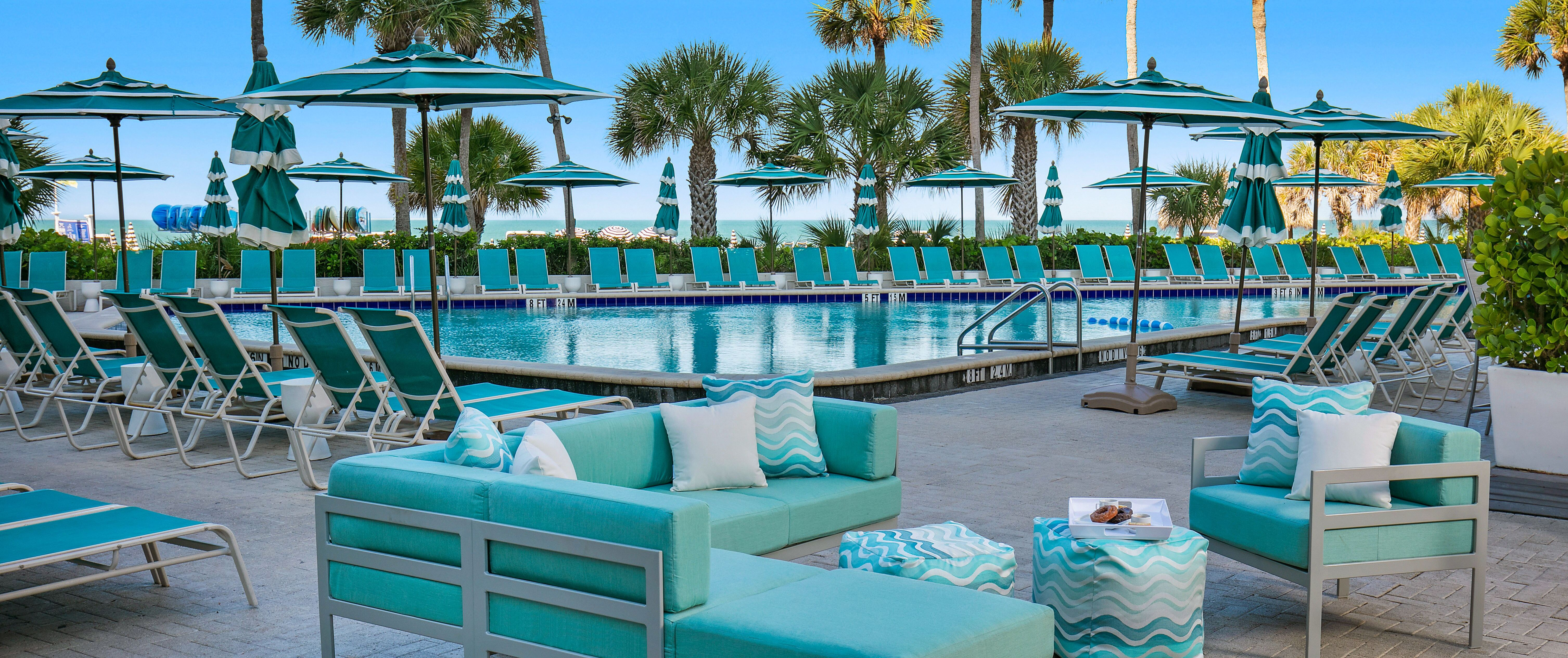 commercial outdoor pool patio furniture