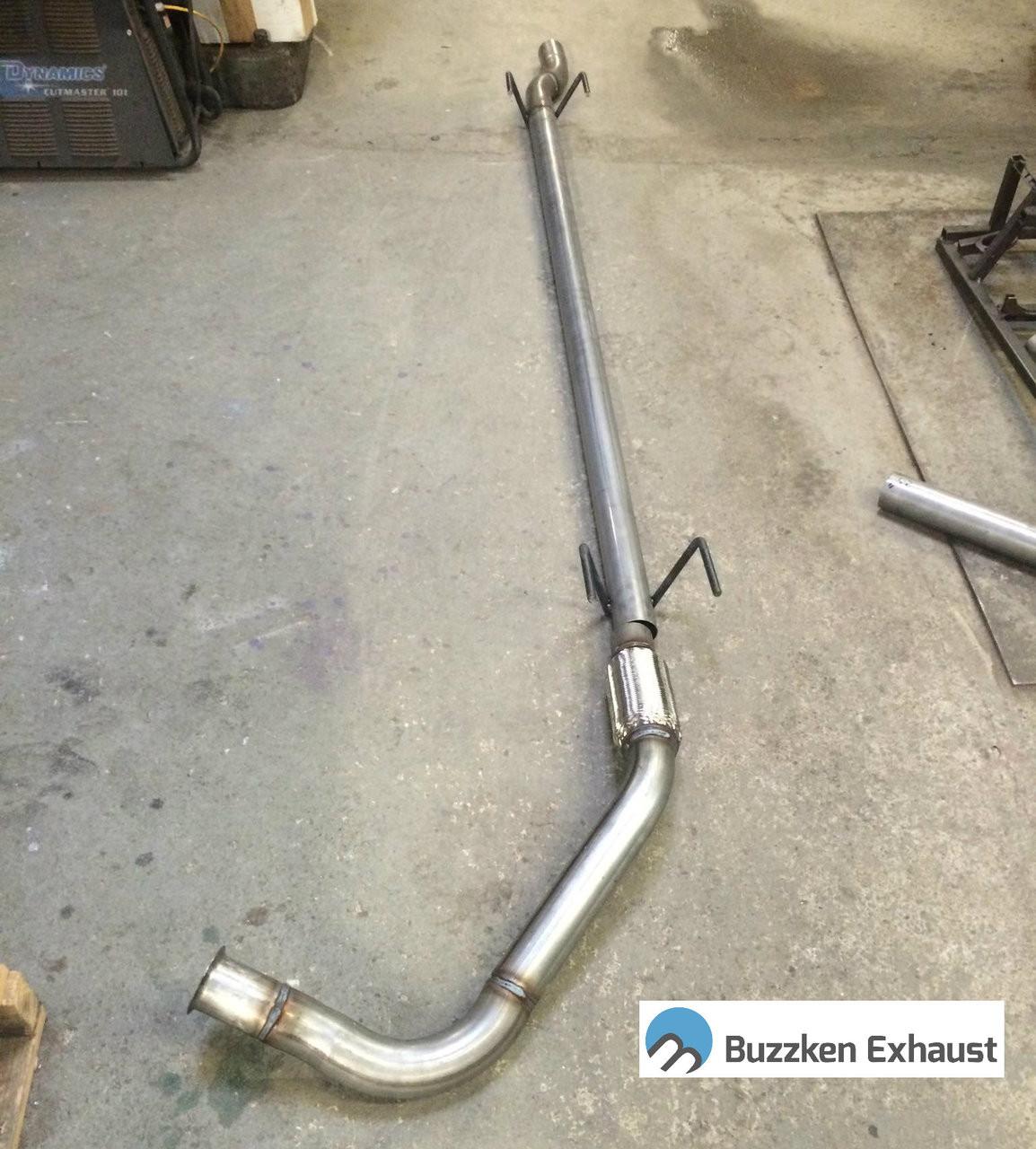 mercedes sprinter van dpf delete pipe 2 1l 4 cylinder 2014 2020 buzzken aar2265