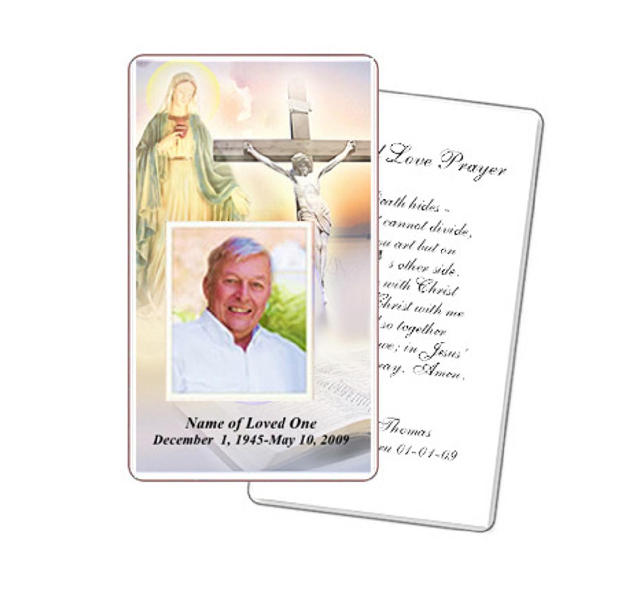 Vision Prayer Card Template