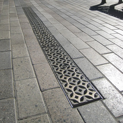 Iron Age Raw Cast Iron Interlaken Grate 5 For Abt Aco Mea The Drainage Products Store