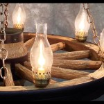 2 Tier Wagon Wheel Rustic Chandelier Teton Lighting