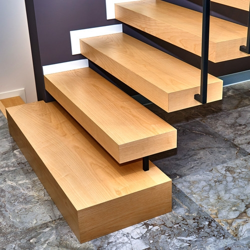 Custom Wood Stair Parts Hardwood Lumber Company | Rustic Wood Stair Treads | Indoor Stair | Wood Plank | Interior | Reclaimed Wood | Carpet