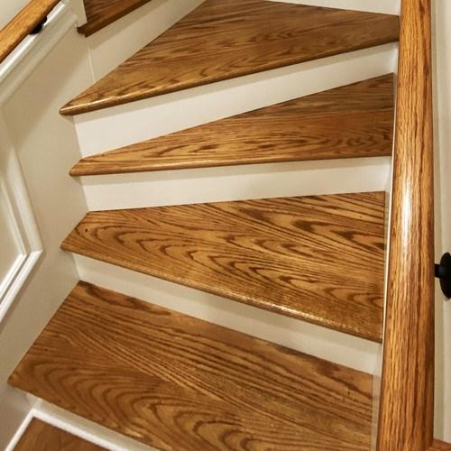 Custom Wood Stair Parts Hardwood Lumber Company | Prefab Oak Stair Treads | Hardwood Flooring | Wood Flooring | Wood Stair | Solid Oak | Risers