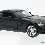 Maisto 1 24 Mercedes Benz Amg Gt Matte Black Awesome Diecast