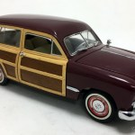 Franklin Mint 1 24 1949 Ford Woody Wagon Burgandy