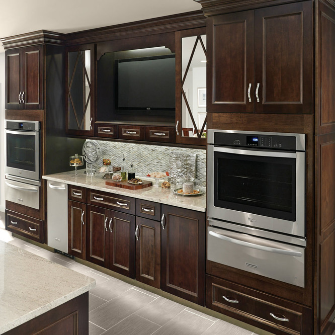 built in microwave base cabinet 27