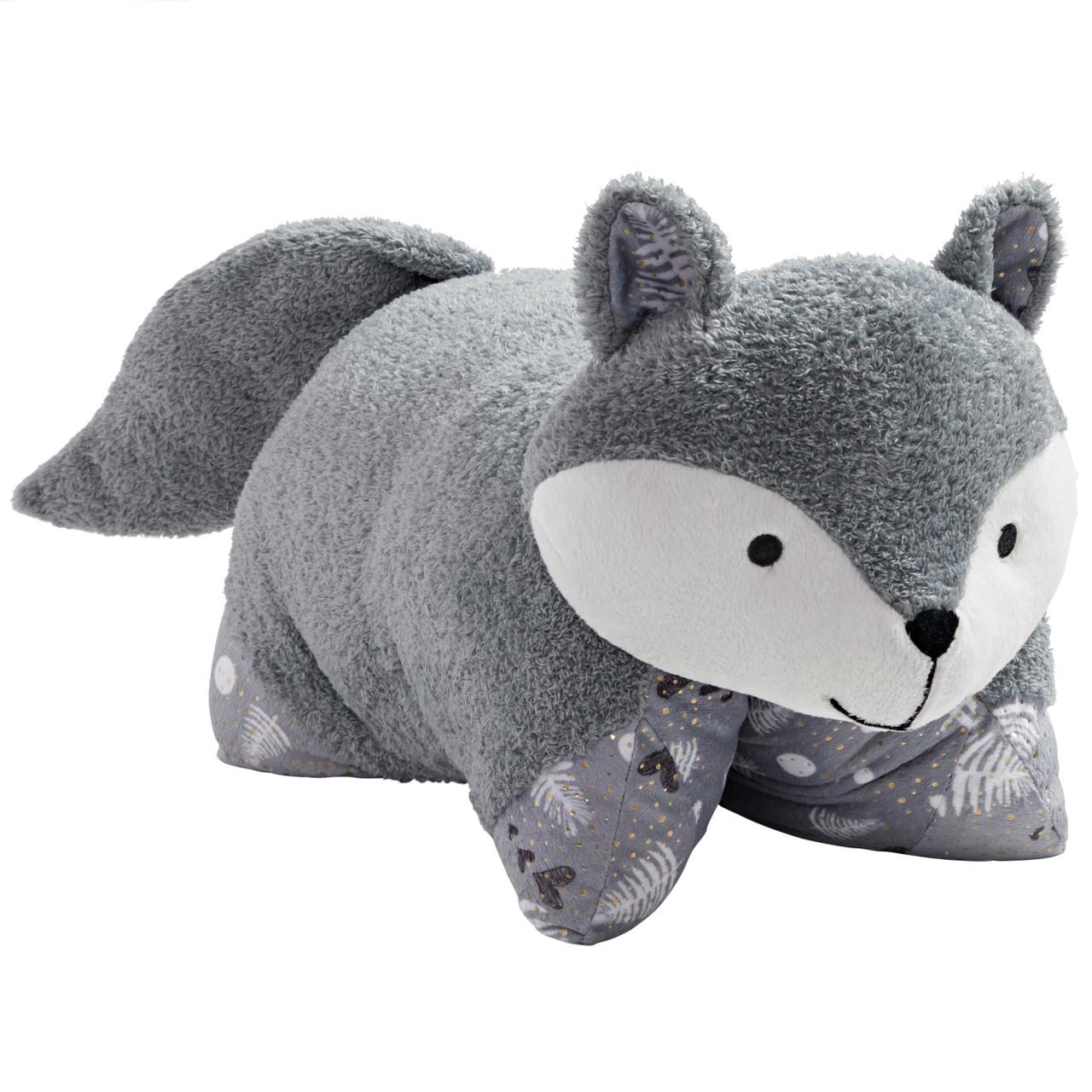 comfy fox pillow pet