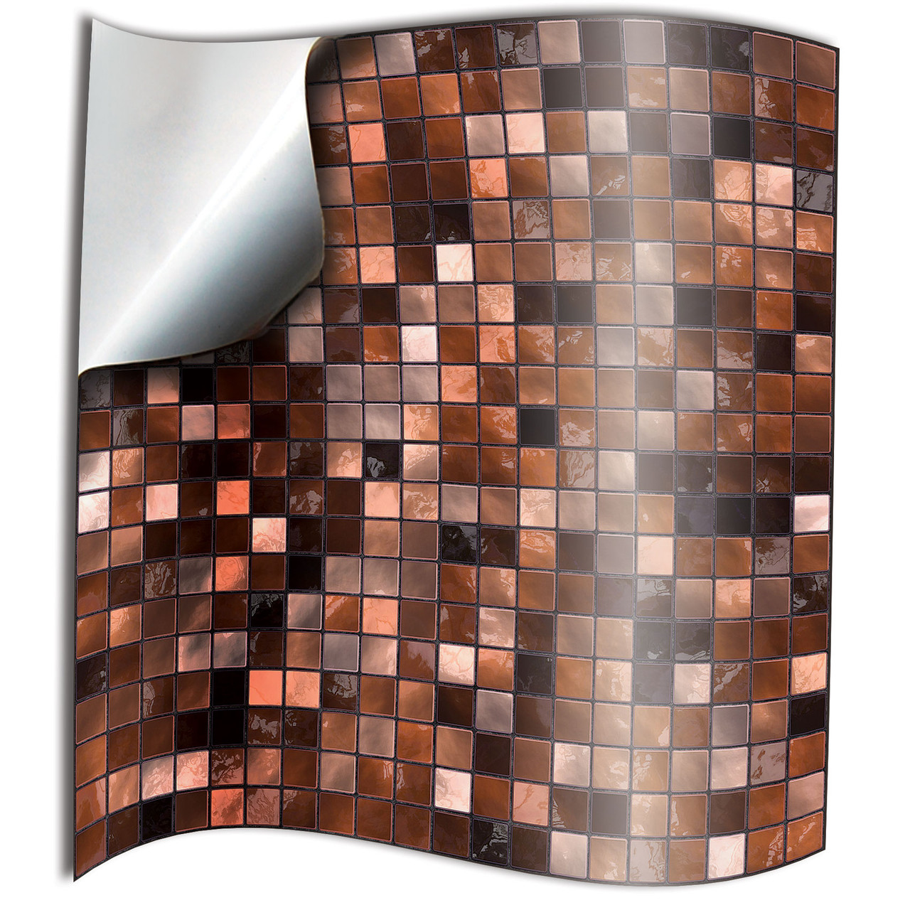 24 copper tile stickers for kitchen 15x15 10x10cm bathroom tile transfers 6x6 or 4x4 waterproof tile decals