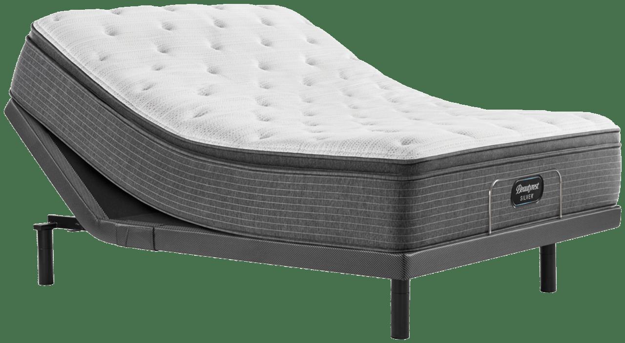 simmons beautyrest silver level 1 plush pillow top mattress
