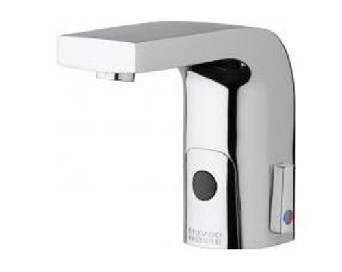 chicago faucets battery operated