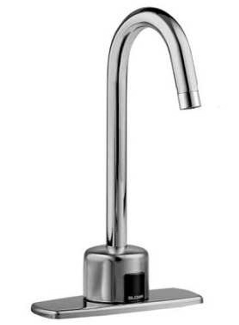 sloan ehs 1700 bdt optima hand washing sink sensor operated faucet stainless steel with etf 700 faucet and below deck thermostatic mixing valve