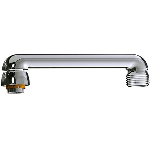 chicago faucets s6jkabrcf chicago faucets part 6 s type swing spout 3 4 hose thread male outlet 1 5 8 faucet height rough chrome