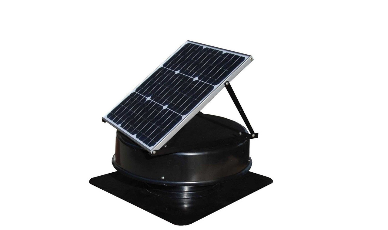 solarking solar roof ventilation exhaust fan 35 watts 18v free delivery