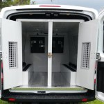 American Aluminum Chevy Express Van Inmate Transport Modular System 2 Compartment Extended Length Includes Squish Seat Dana Safety Supply