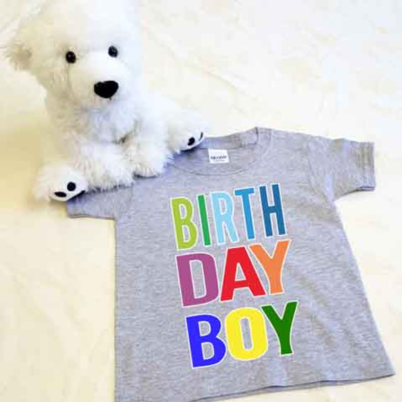 Sesame Street Birthday Boy Shirt In Baby And Toddler Sizes Puddle Bear