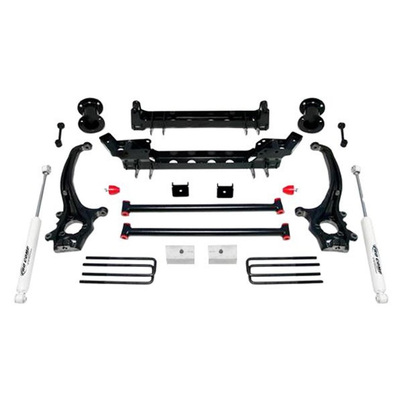Steel Rear 2 5 Lift Kit For Titan 2wd Car