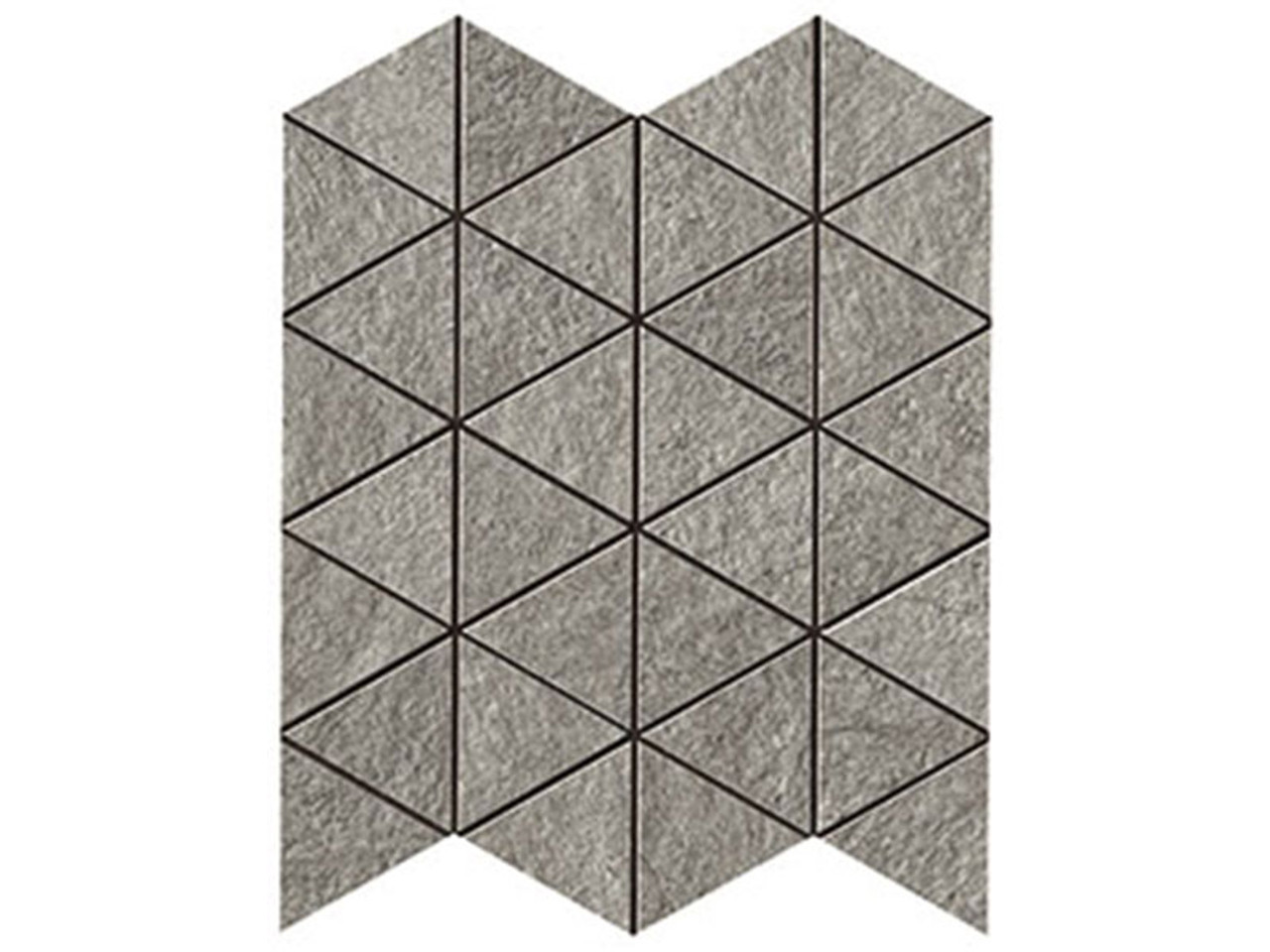 klif grey triangle mos 28 5x33 tile space