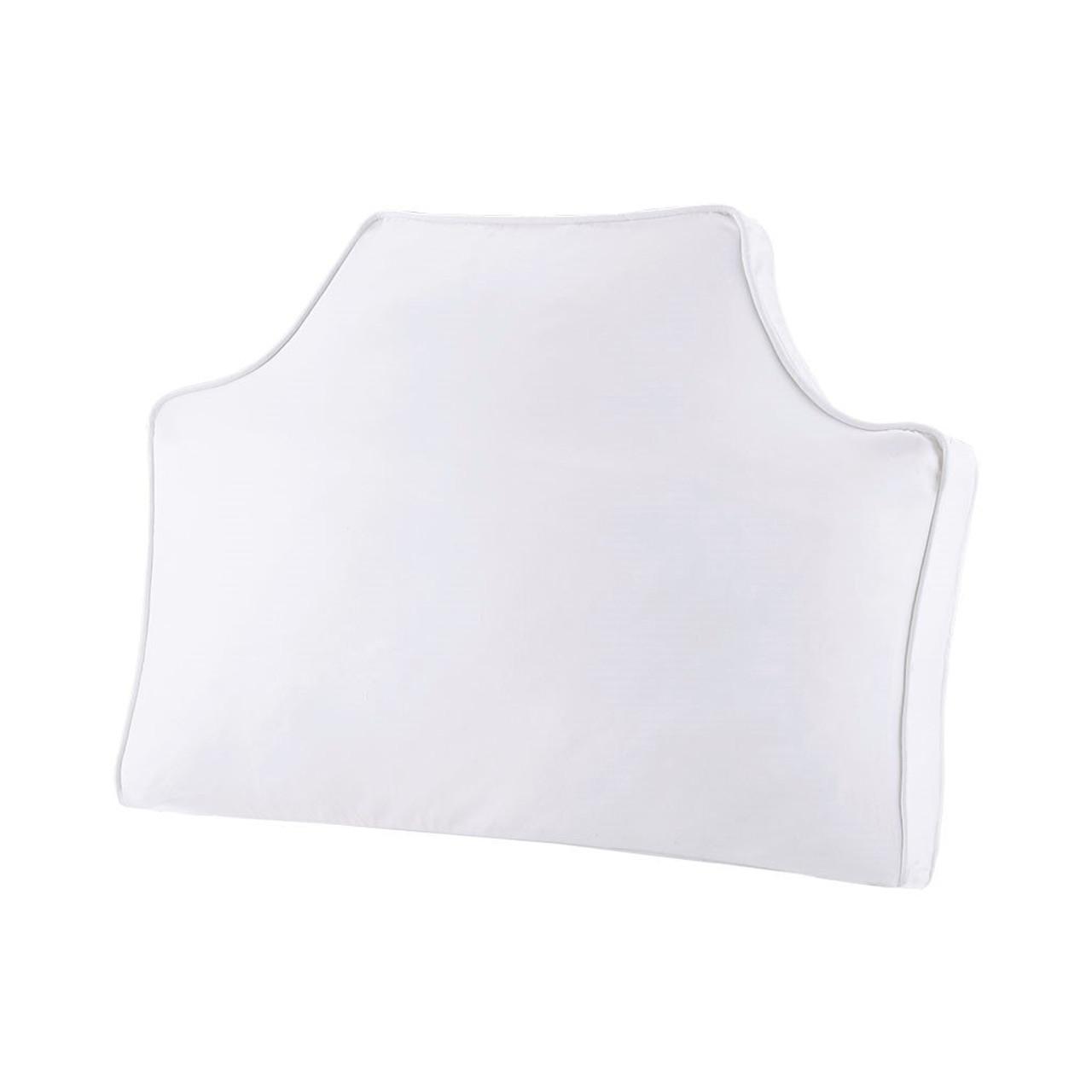 intelligent design oversized headboard 100 cotton canvas pillow id30 1481