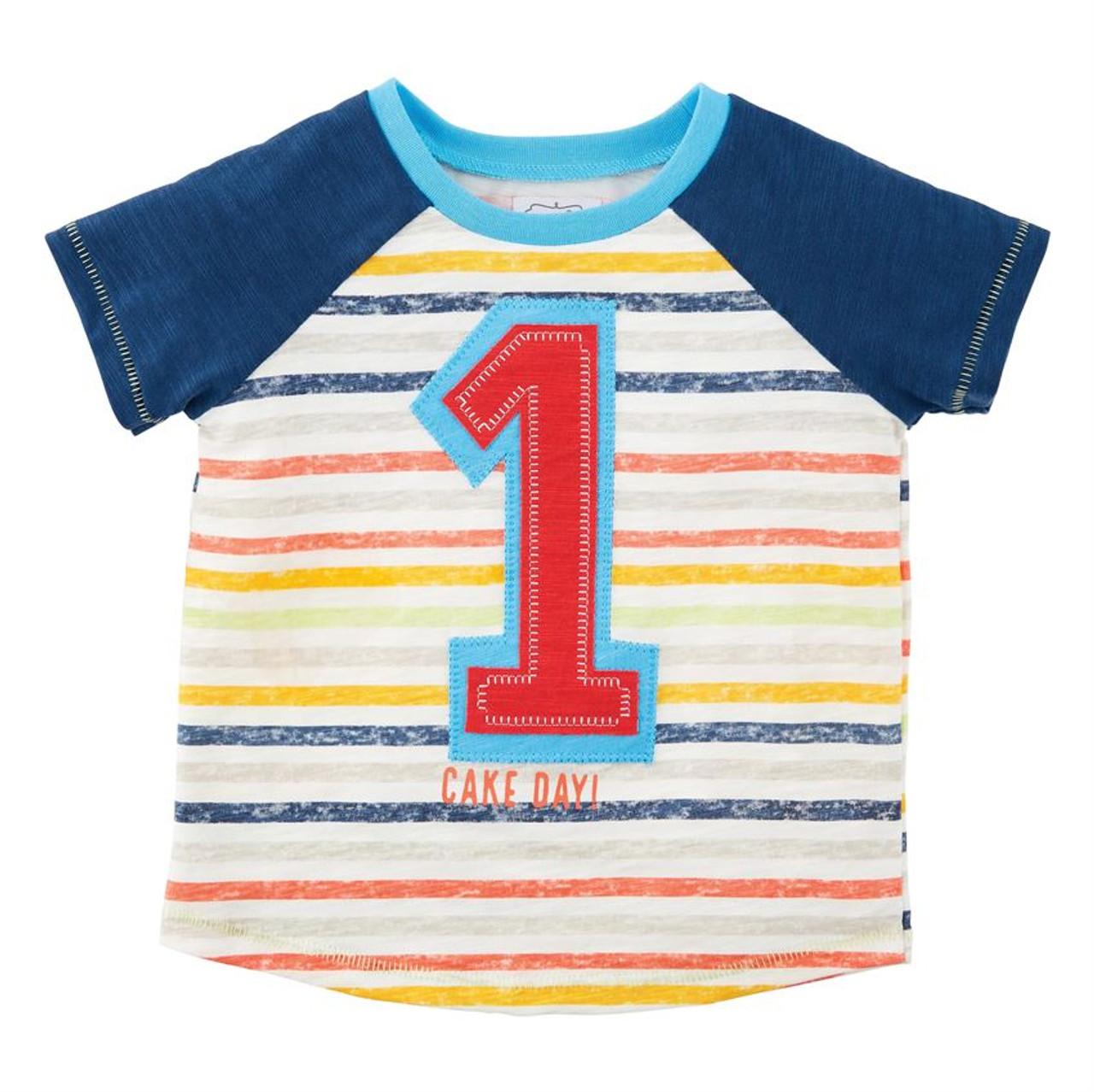 Mud Pie Boy Birthday Shirt One Brandi S Boutique