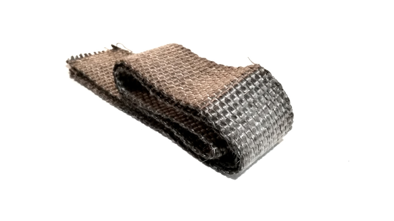 grey 50mm exhaust heat shield wrap 3 foot sections