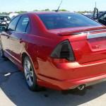 2010 2012 Ford Fusion Led Tail Lights Chrome Housing Smoke Lens K2 Motor