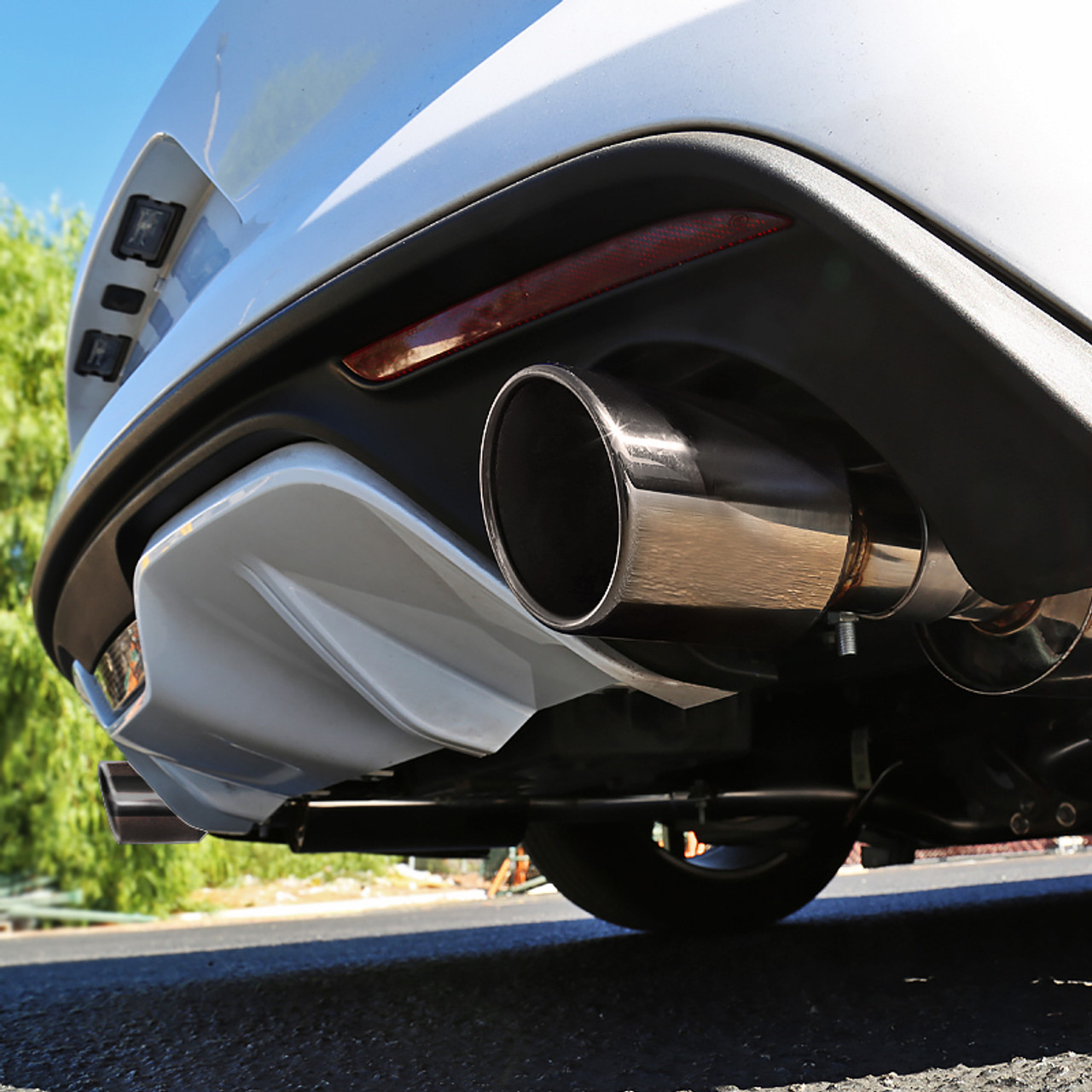 2015 2018 ford mustang 2 3l ecoboost stainless steel dual catback exhaust system