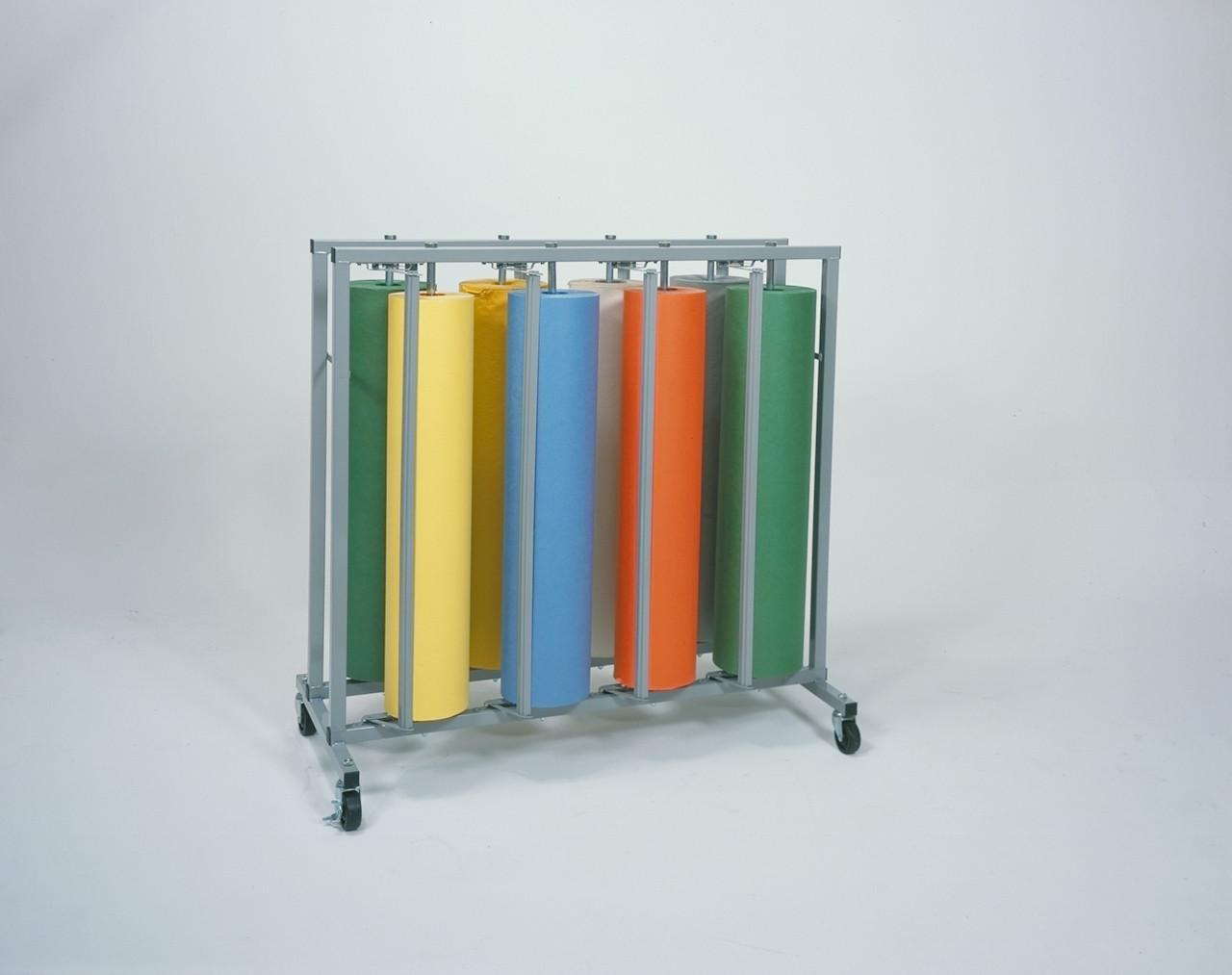 36 eight roll vertical kraft paper cutter dispenser