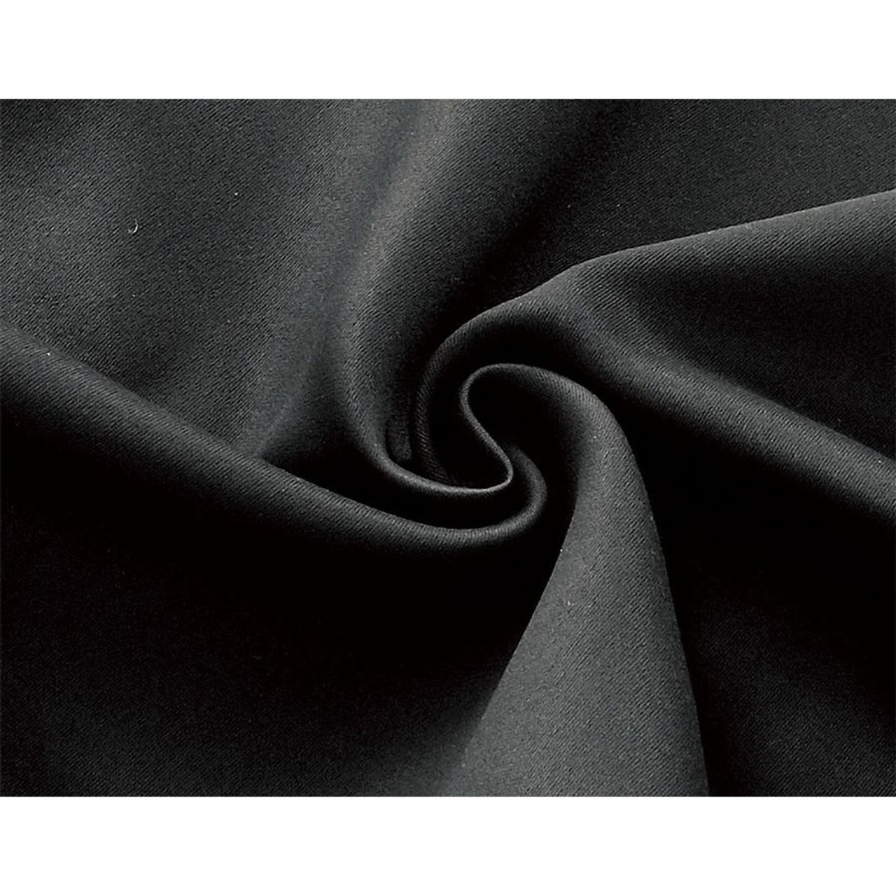 blackout room divider curtain panel thermal insulated black color