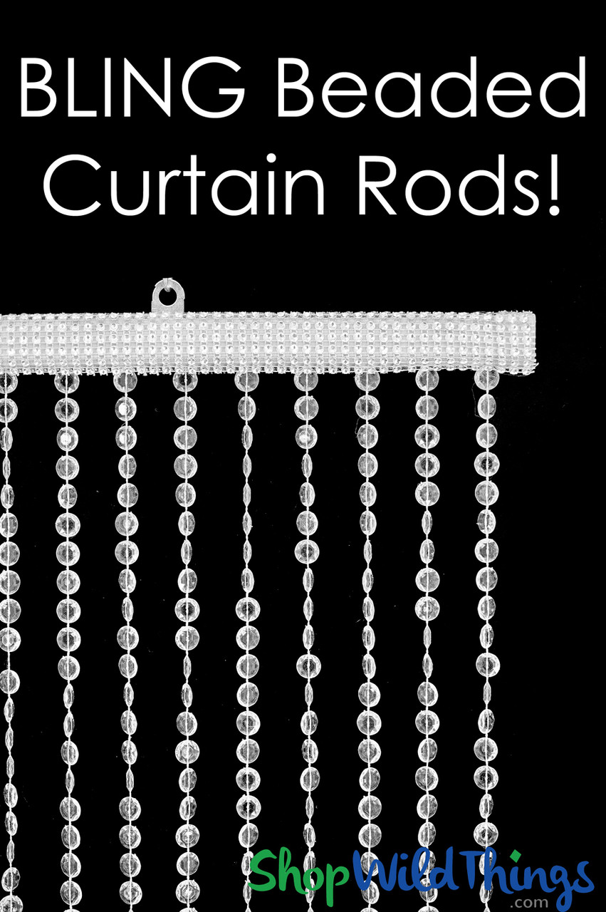 bling curtain rods add on service