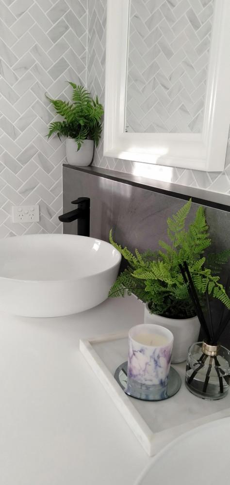 https www tiles4less com au carrara porcelain herringbone tile 95x45mm