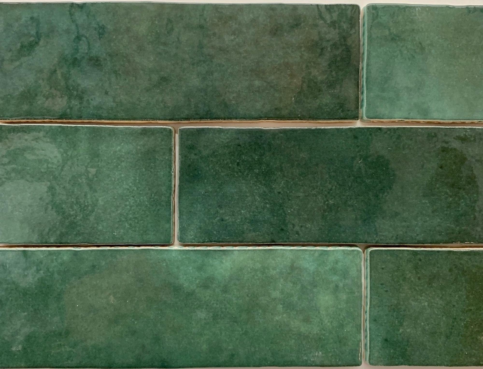 handmade style spanish subway wall tile