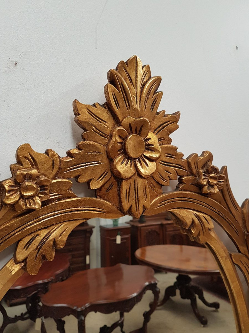 french gilt louis xiv style console table