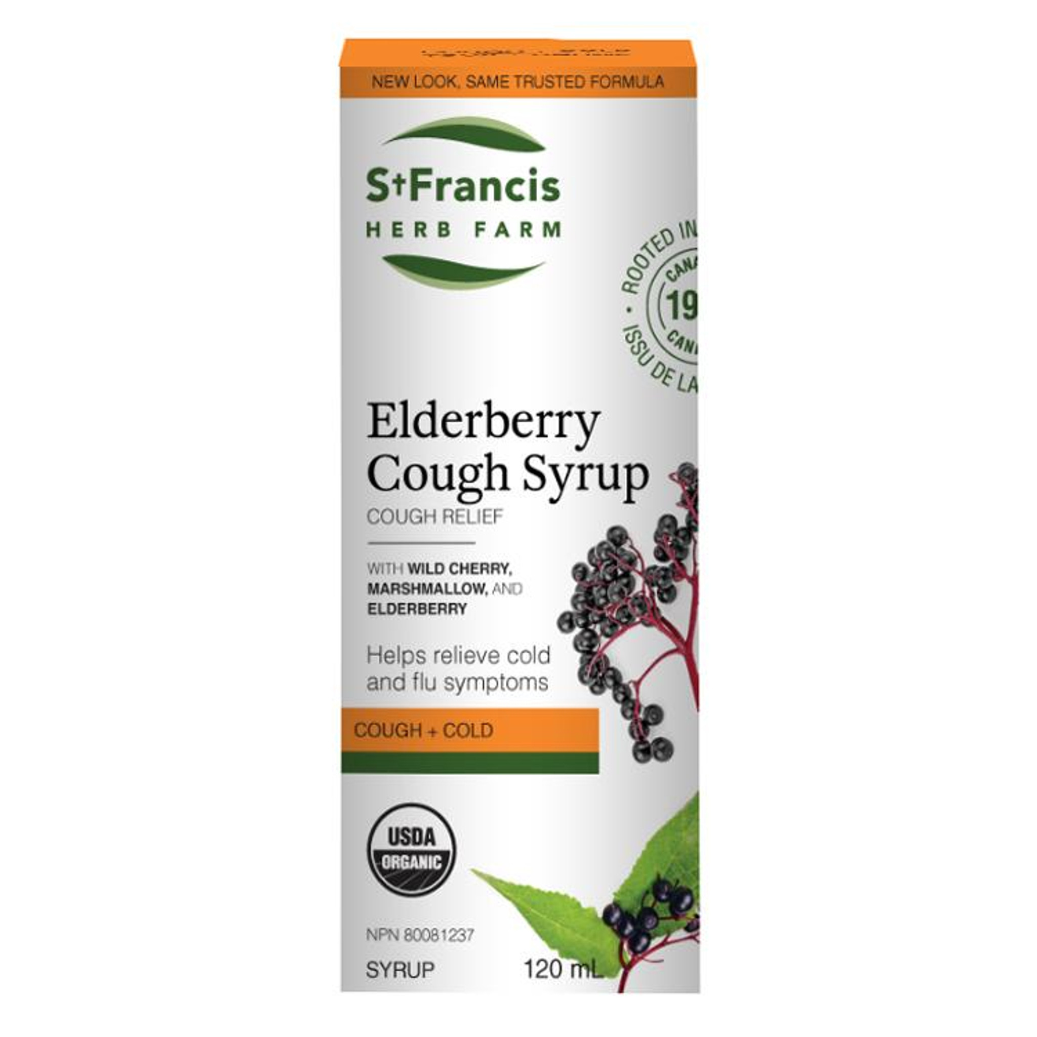 St Francis Elderberry Cough Syrup For Adults Nest