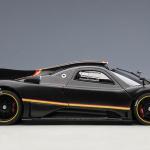 1 18 Autoart Pagani Zonda Revolucion Black Carbon Fiber Diecast Car Model Livecarmodel Com