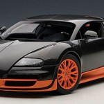 1 18 Autoart Bugatti Veyron Super Sport Carbon Black Orange Side Skirts Diecast Car Model 70936 Livecarmodel Com
