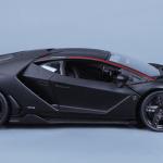 1 18 Maisto Lamborghini Centenario Lp770 4 Matte Black Diecast Car Model Livecarmodel Com