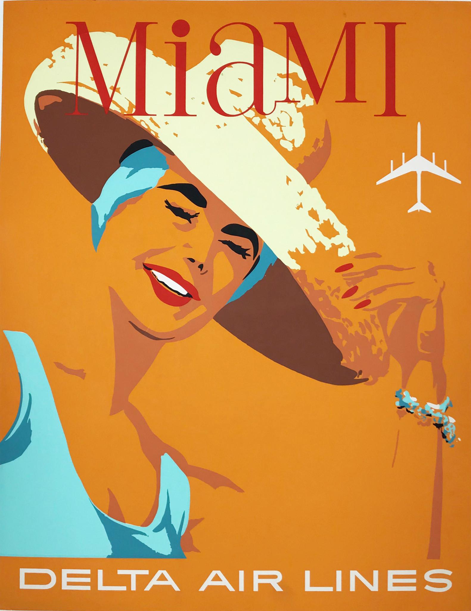 delta airlines miami beach original