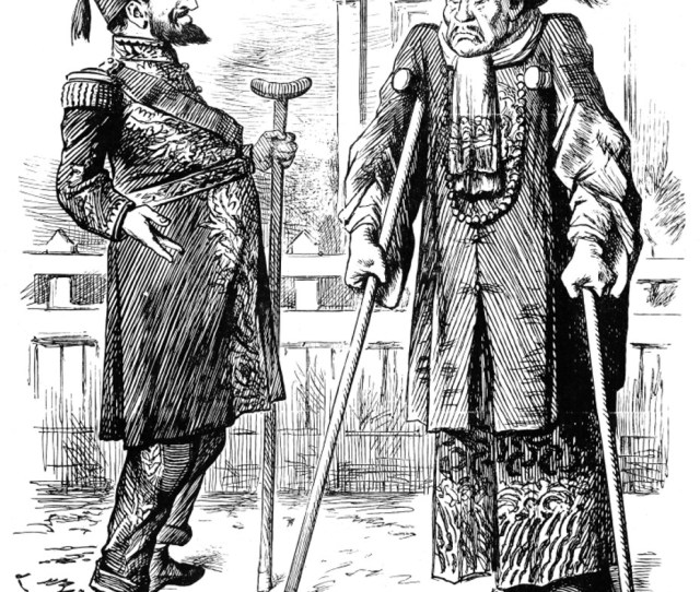 Turkey Another Sick Man Nan  Cartoon By Sir John Tenniel On