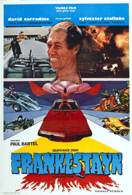 Death Race 2000 Turkish Poster Art David Carradine 1975 Movie Poster Masterprint - Item # VAREVCMCDDERAEC096H - Posterazzi