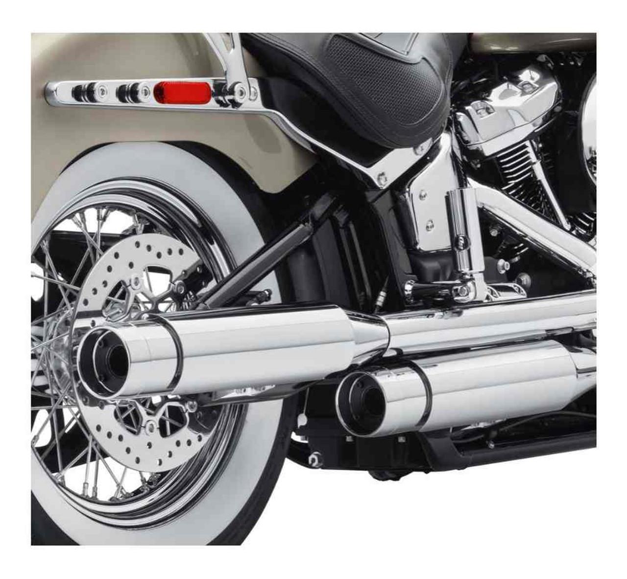 harley davidson screamin eagle street cannon mufflers short domestic 64900636