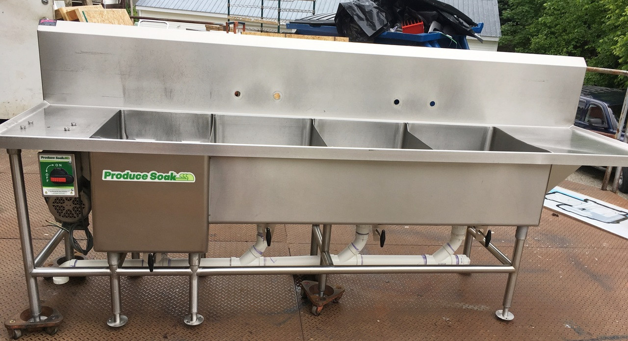 produce soak power soak sink