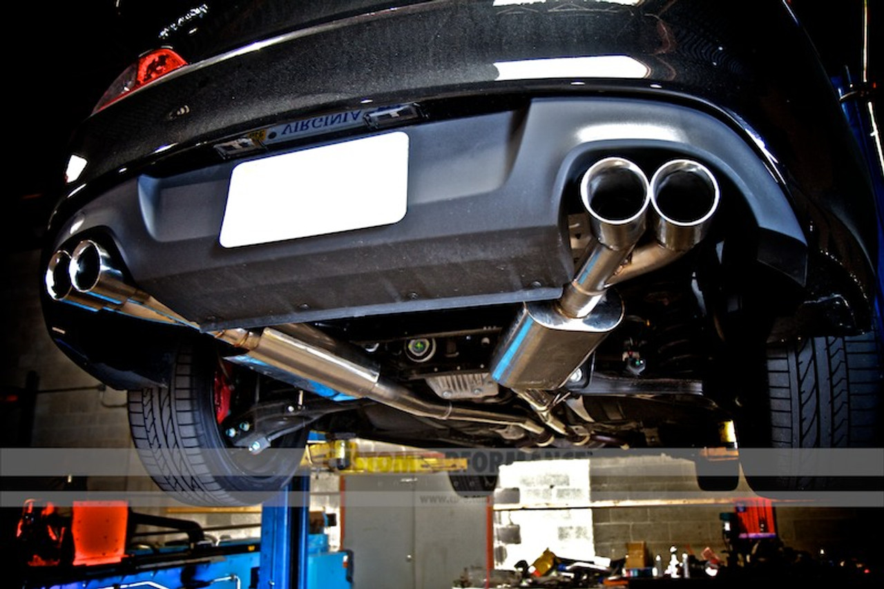 cp e true dual cat back exhaust for 3 8 v6 2010 16 genesis coupe